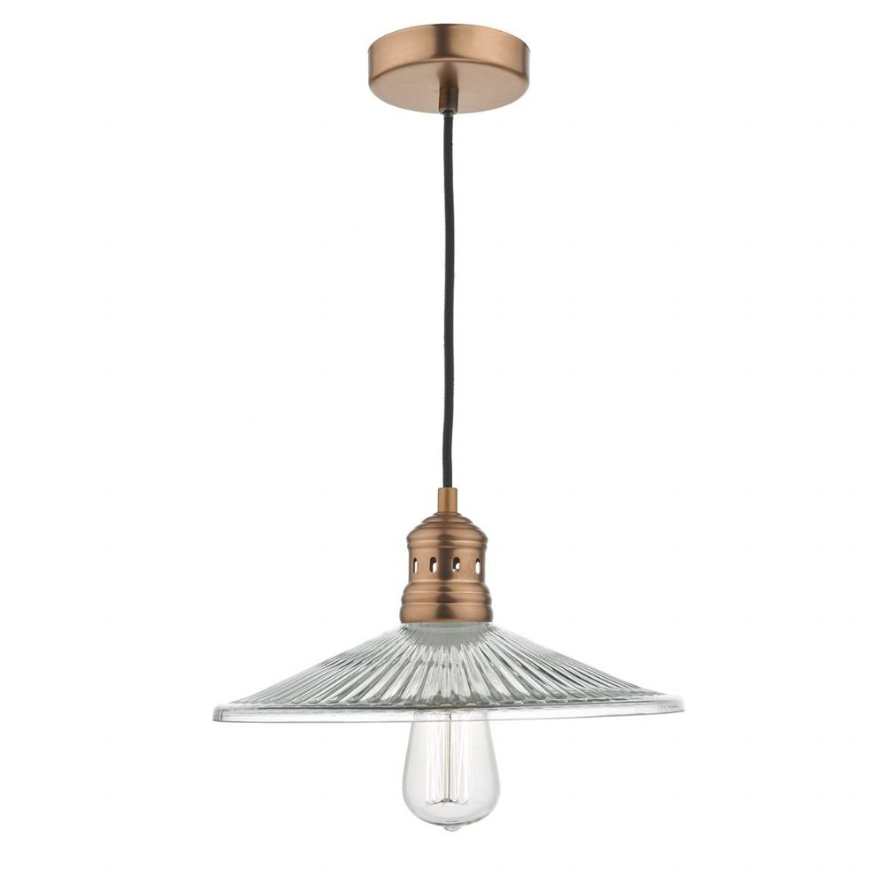 ADELINE 1LT PENDANT ANT COPPER (Class 2 Double Insulated) BXADE0164-17